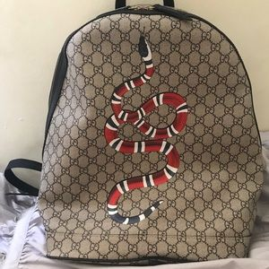 Other - gucci snake backpack